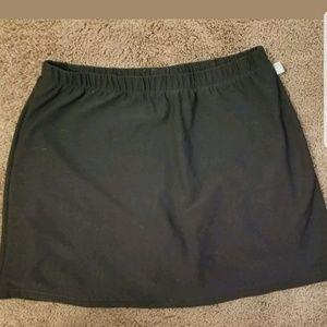 Nike tennis skirt/skort  EUC black small